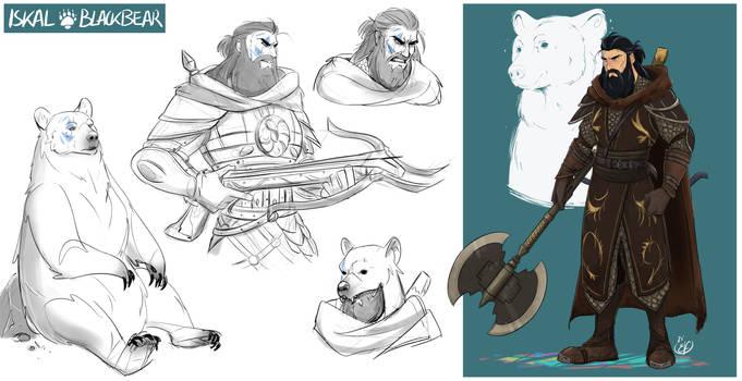 [COMMISSION SKETCH PAGE] Iskal Blackbear