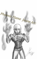 Phoenix Flame Jaune Arc by Titangod