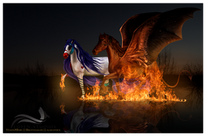 GONNA SET YOUR SOUL ON FIRE by haechii