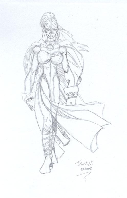 Princess sketch by tanis