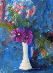 Cosmos: flora still life series 1