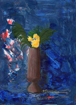 Mums: Floral Still life series 1