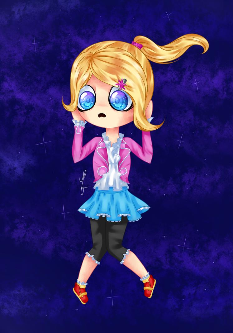 Keep falling, little girl by Mari475