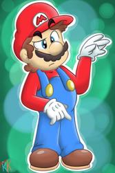 Simply Mario by rainbowkirby