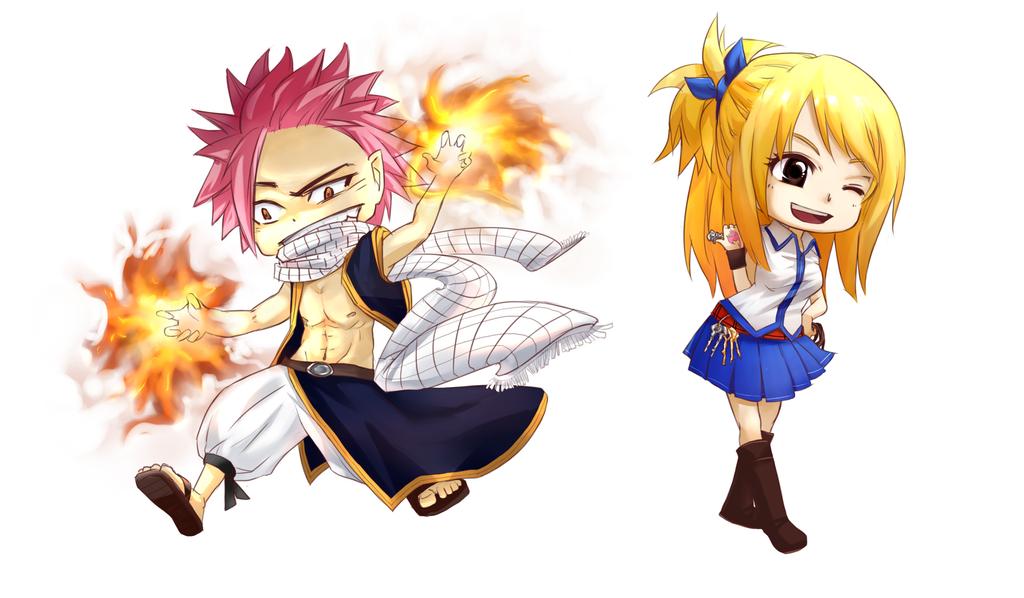 Fairy Tail chibi by hama-chama on DeviantArt