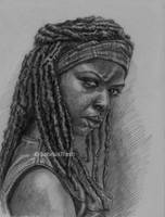 Michonne of The Walking Dead