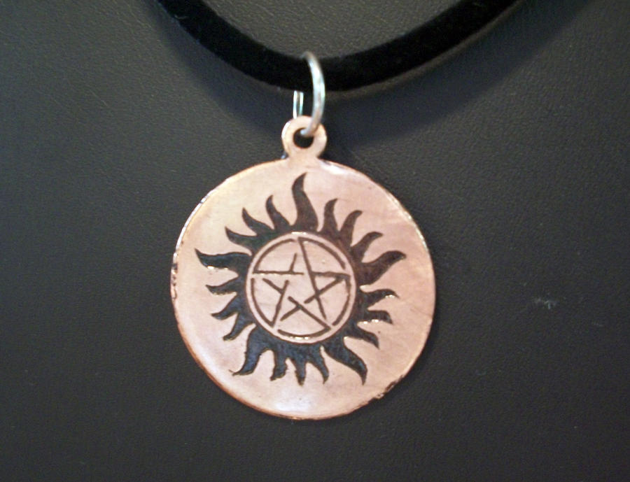 Supernatural anti possession pendant by spaceraptor on deviantart supernatural anti possession pendant by spaceraptor aloadofball Gallery