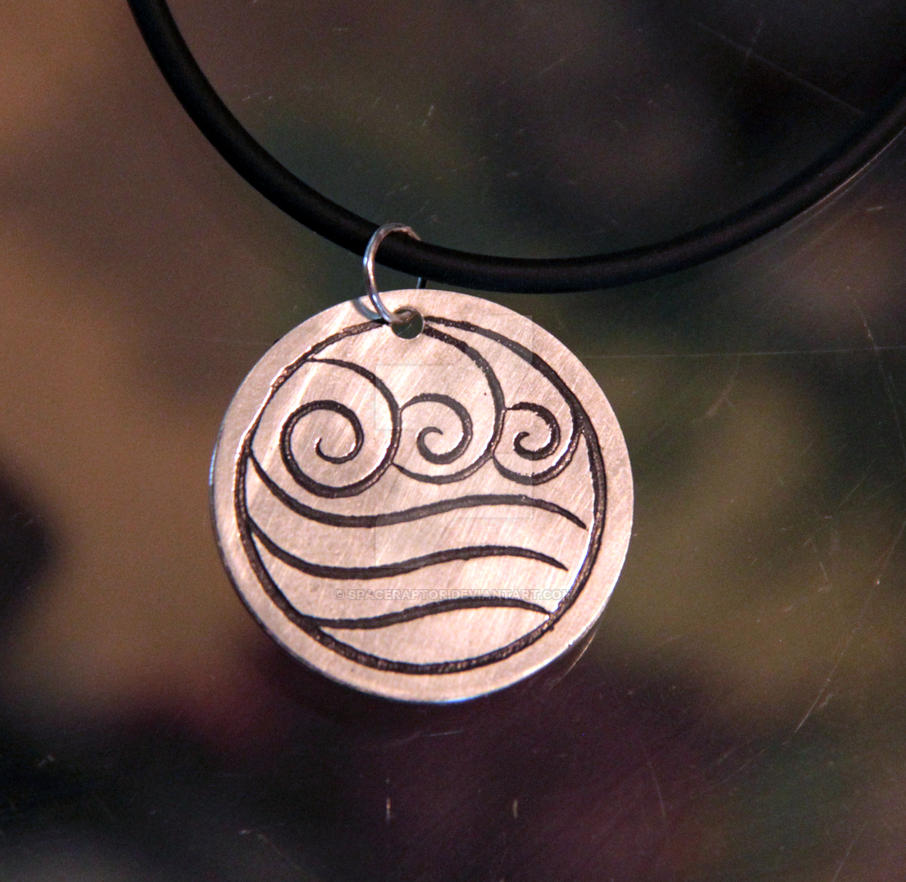 Waterbending Pendant by spaceraptor