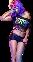 PNG De Katy Perry Teenage Dream (HD) by danperrybluepink