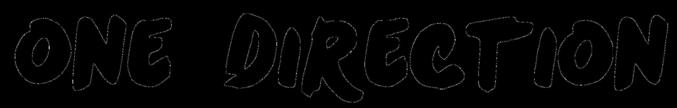 One Direction Logo PNG by danperrybluepink on DeviantArt