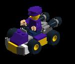 MK7 Waluigi Lego