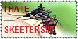 I hate skeeters stamp by FluffyFerret97