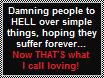 Yeah, so loving... NOT! by FluffyFerret97