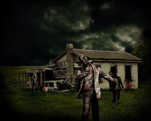 ZOMBIES by RagmanJones 45 Awesome Apocalyptic Zombie Artworks