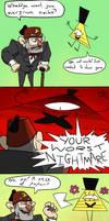 Gravity Falls Comic - Worst Nightmare