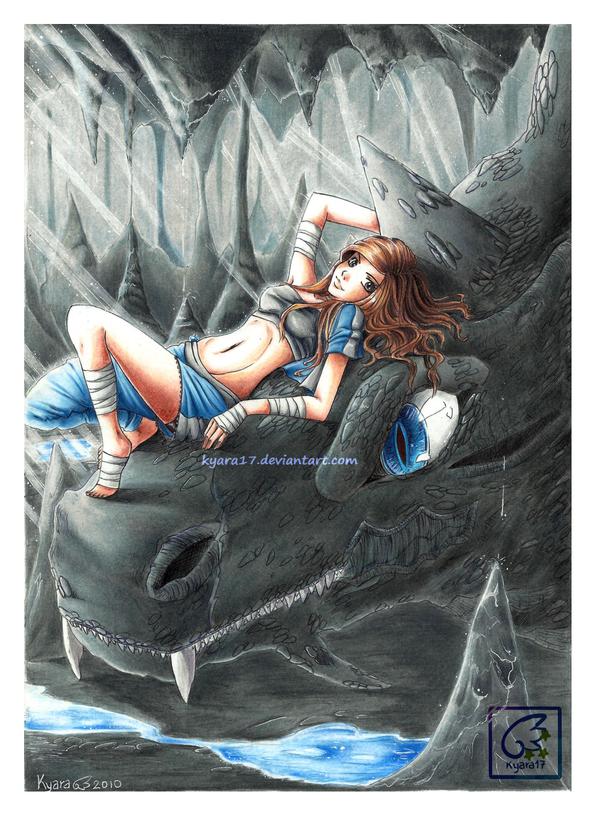 Water's Beast by kyara17
