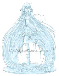 CM - Chii Glass Figure by kyara17