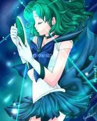 Neptune Crystal Power by kyara17