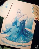 Ice Princess + VIDEO Process by kyara17