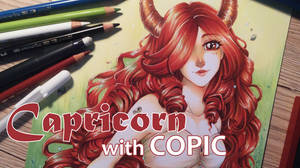 Capricorn with COPIC + Video Process