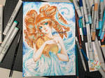 Aquarius with COPIC Markers! by kyara17