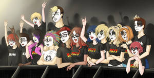 Commission - Miraculous Kiss Concert