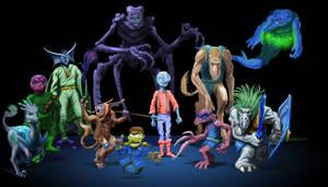 Comparative Aliens by Zainy7