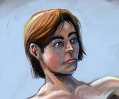 Human Figure Study by Zainy7