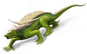 Desmatosuchus by Zainy7