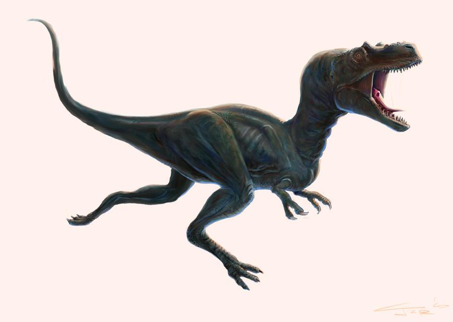 Albertosaurus redux by Zainy7