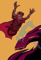 Tanjo Jumping by Zainy7
