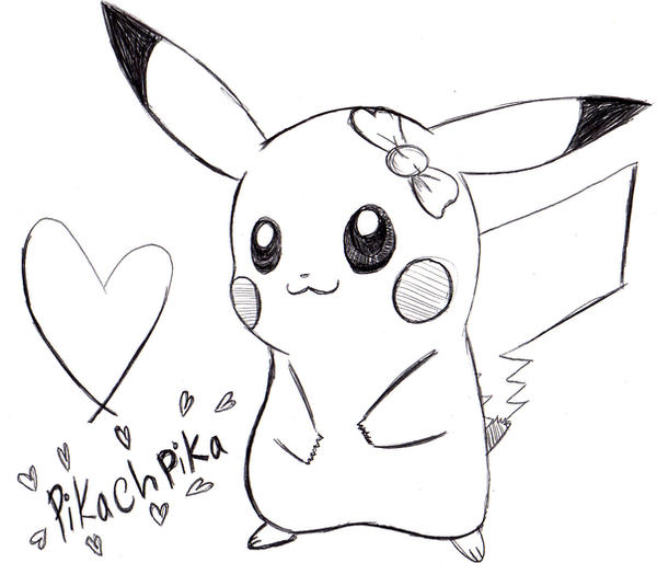 pikachu love by pikachupika