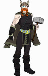 Thor by Heromachine