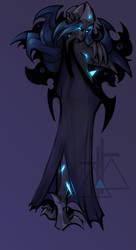 Crystaleye Demon by Magdalene-Cross