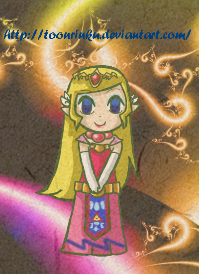 Wind Waker Zelda by ToonRinku