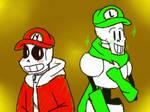 Art | Super Skelebros