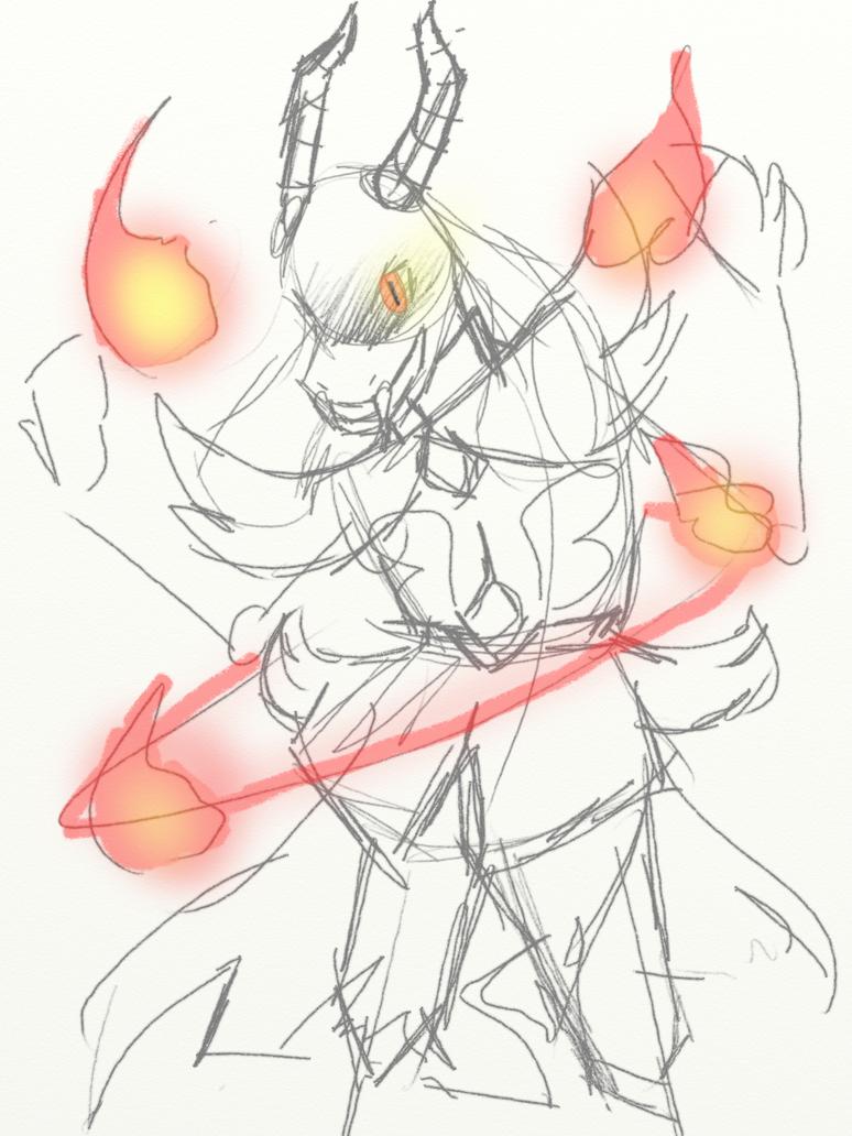 Sketch | Toriel The Tenacious by Burning-Sol