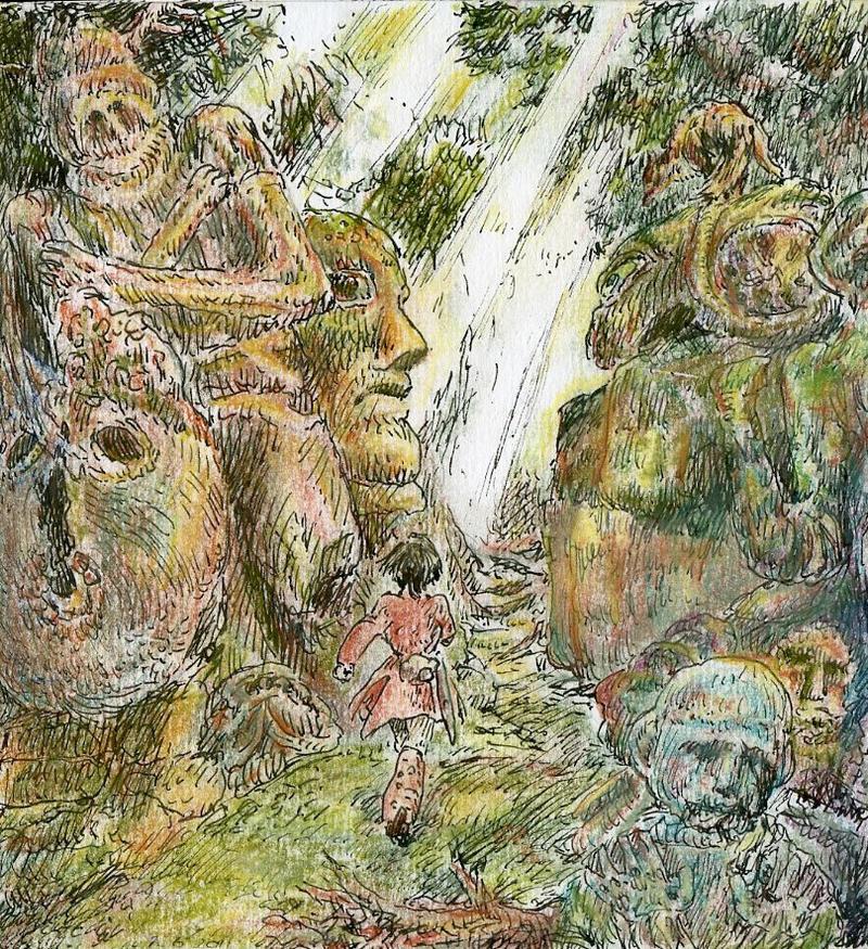 Jungle Stroll by Pen-scribble