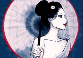 Geisha Girl by creationbegins