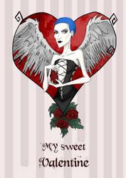 My sweet Valentine  by creationbegins