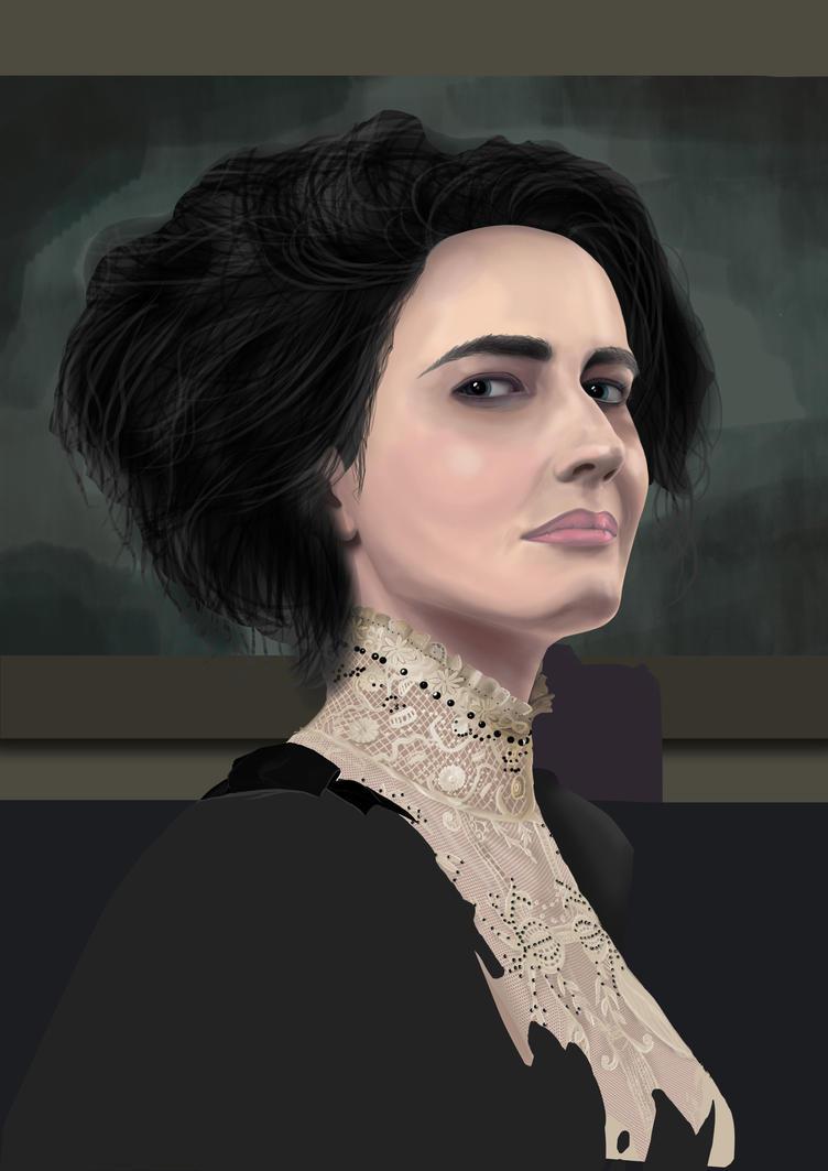 Vanessa Work In Progress 11 by creationbegins