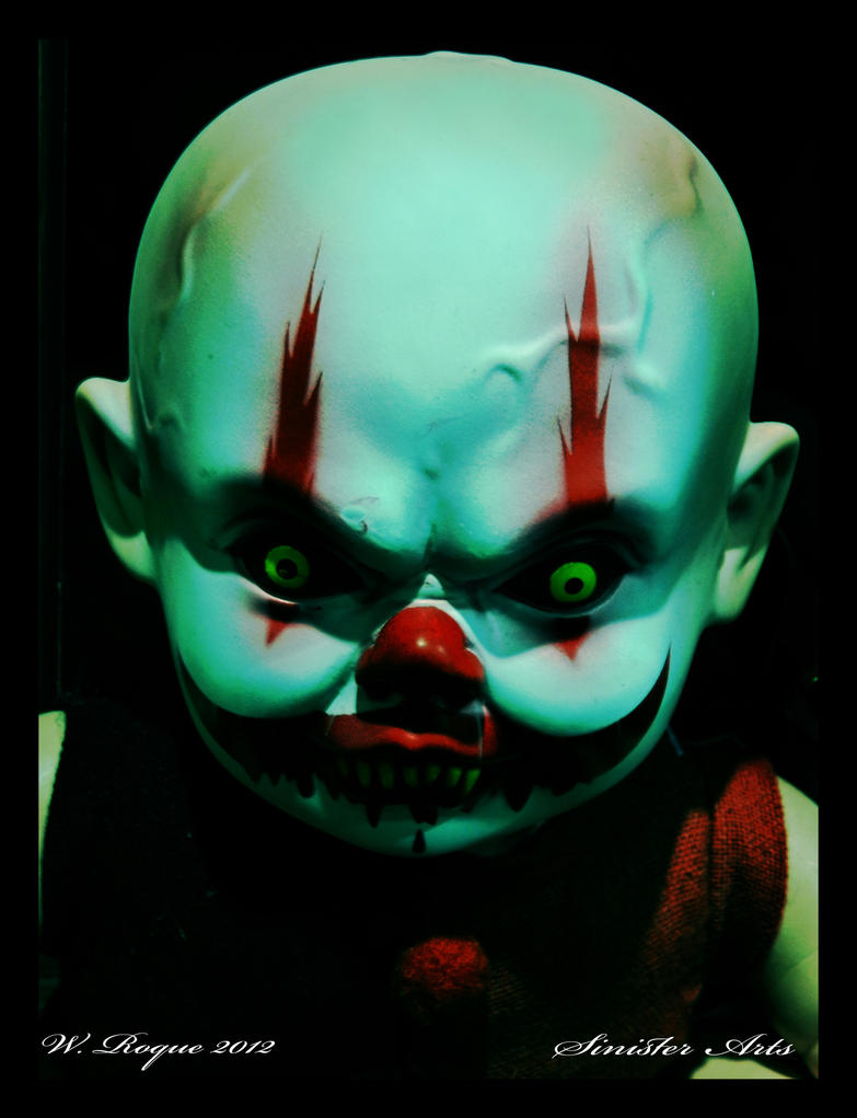 demon clown baby by wroquephotography on DeviantArt