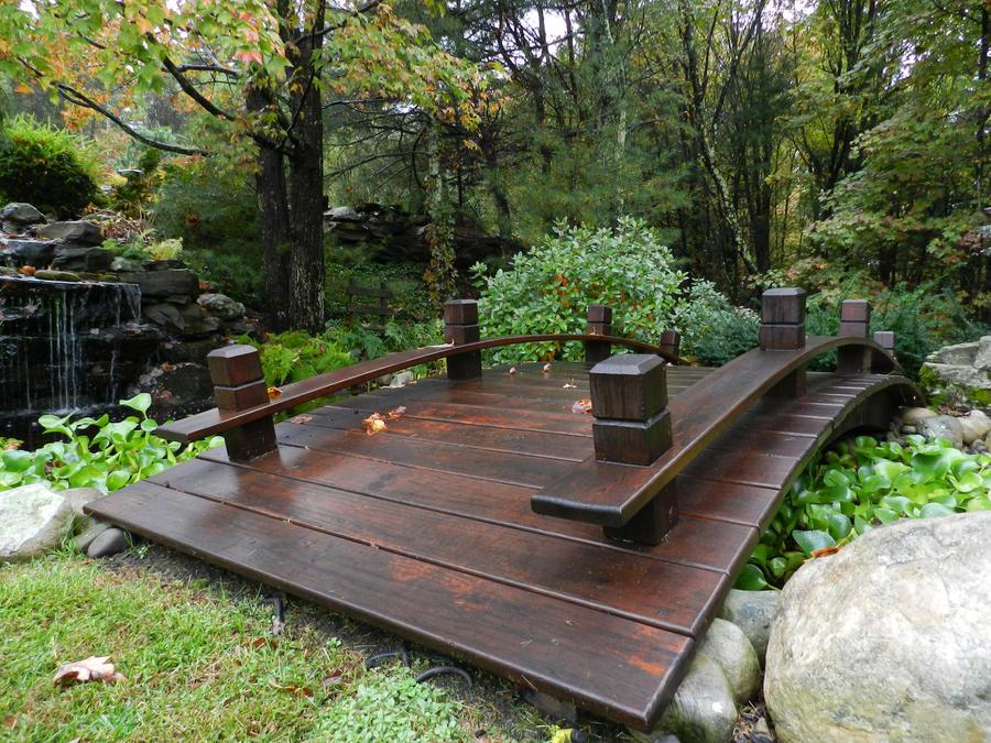 Japonisant petits ponts au jardin small garden bridges for Garden pond bridge