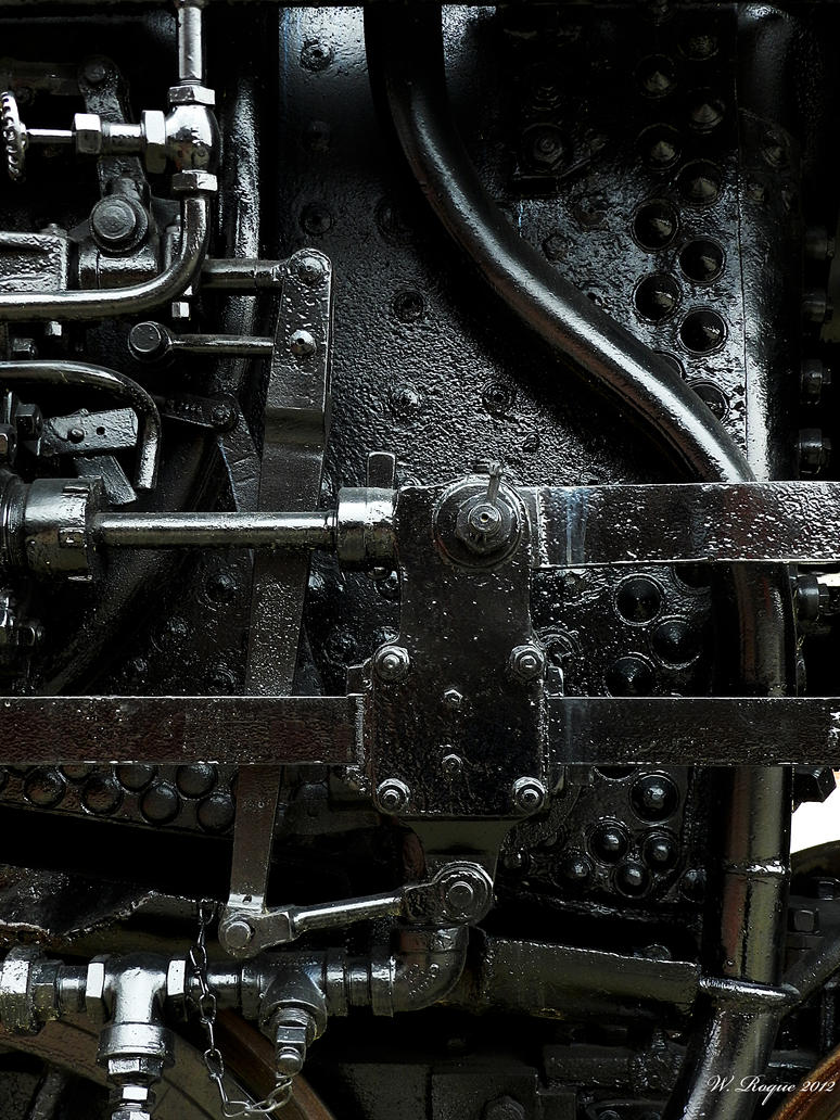 steam power#1 by wroquephotography