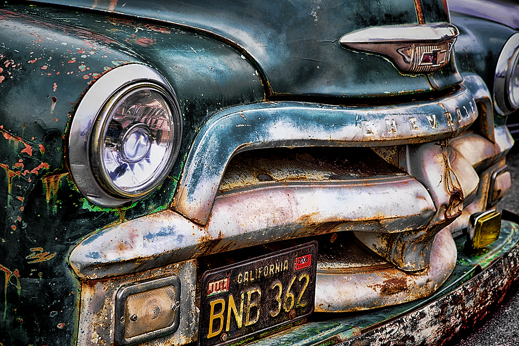 50s Chevy Pick Up By Tomfawls- photoedit by wroquephotography