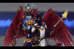 Nils Dragon and Nilsilus argonian