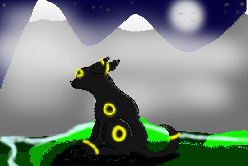 Luna the Umbreon