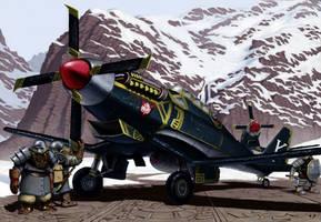 Dragonbane Bomber by Aanker
