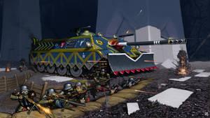 Dwarven Shieldbearer Tank Destroyer