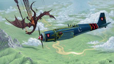 Dwarven Thunderstrike Fighter
